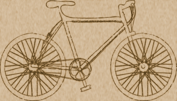 Rough bicycle 1 retro