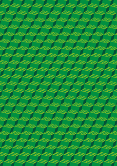 Block background illustration green