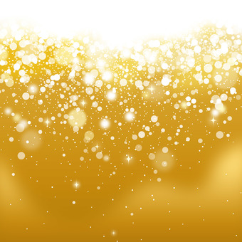 Gold abstract background material
