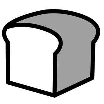 식빵 아이콘 덩어리 빵