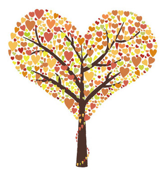【Request】 Autumn leaves version Heart tree