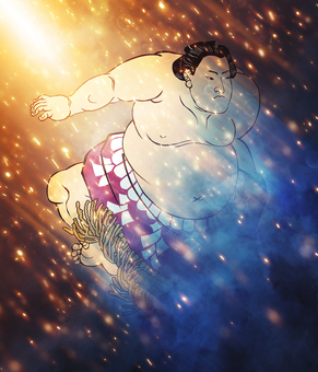 Sumo wrestling light version