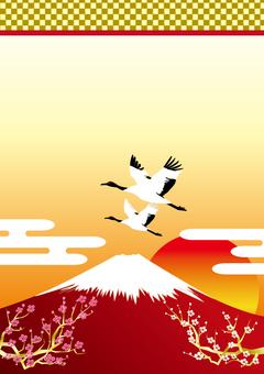 Red Fuji and Tsuru