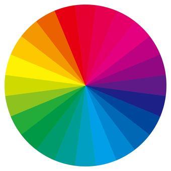 24 color circles