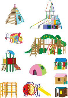 Nursery play equipment set 1