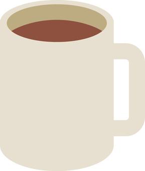 Natural mug cup