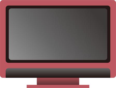 電視(粉紅色)