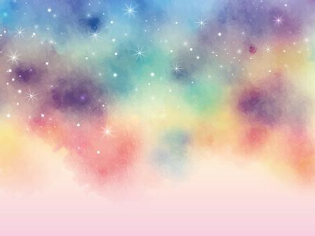 Night sky frame ver06