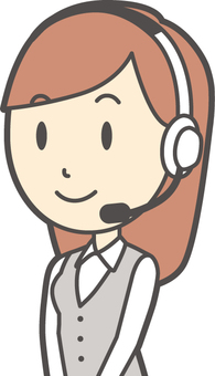 Call center female -214 - bust