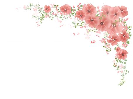 꽃 프레임 08