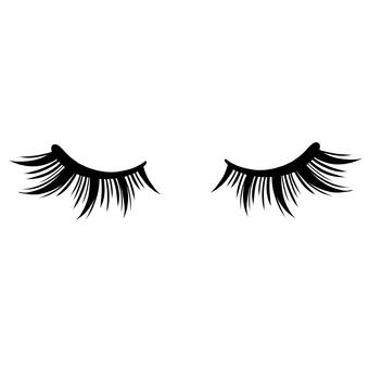 睫毛聰明長閉眼睛