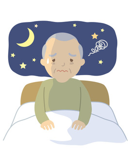 Elderly people with insomnia