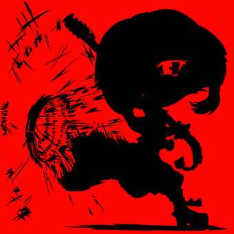 Amami Yae, silhouette