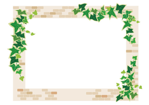 Brick and Ivy frame