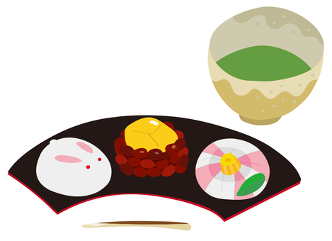 Japanese sweets 01