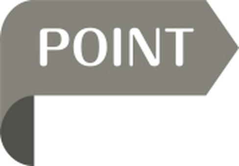 Point arrow