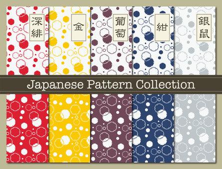 Pattern material 80 (Yukiwa pattern 01)