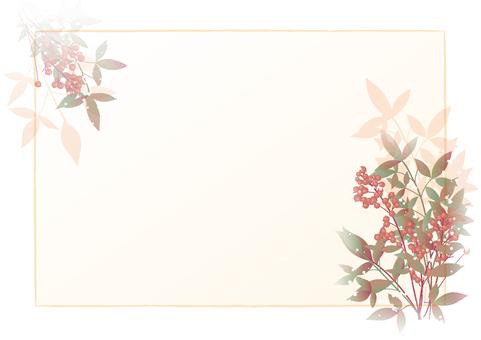 Southern winter frame (sideways)