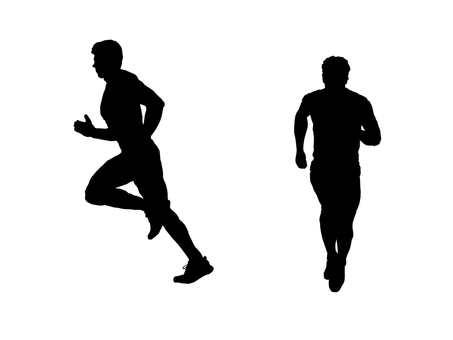 Runner silhouette 3