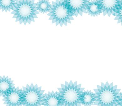 Flower pattern _ Blue 1