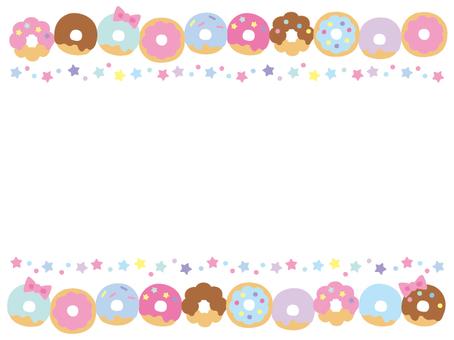 Donut frame