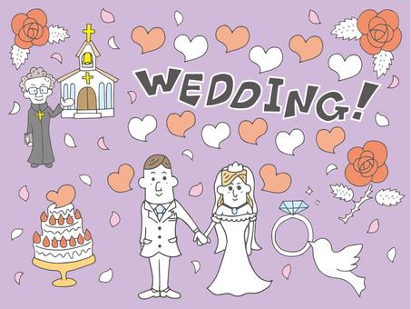 Wedding _ Illustration B