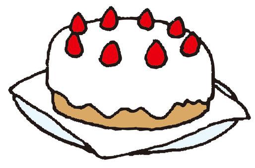 草莓蛋糕(大厅)