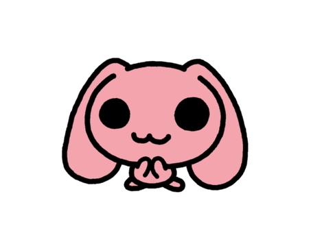 토끼 늘어진 귀