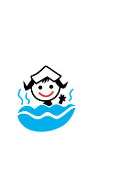 Icon hot spring