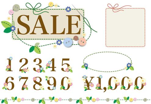 出售傳單材料集(縫紉)9