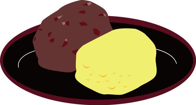 Food 35 Mudanboki _ Kinako _ Grains - Japanese confectionery
