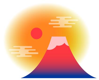 Simple red Fuji