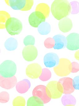水玉パターン
