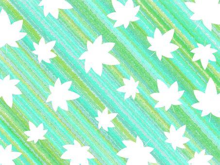 단풍 배경 소재 03 / 녹색