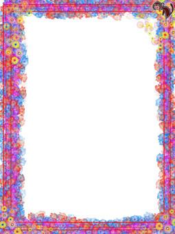 花框架(與猴子)