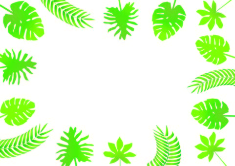 Southern country leaf illustration