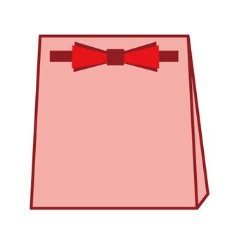 포장 가방 (핑크 계열)