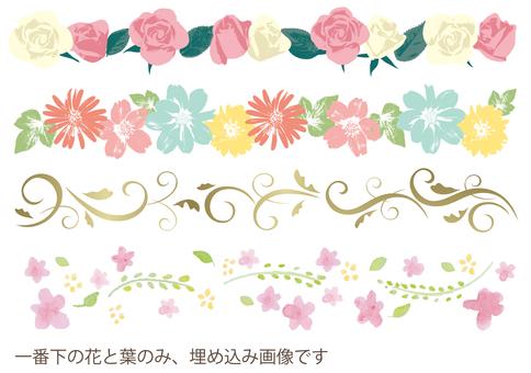Various flower lines 2