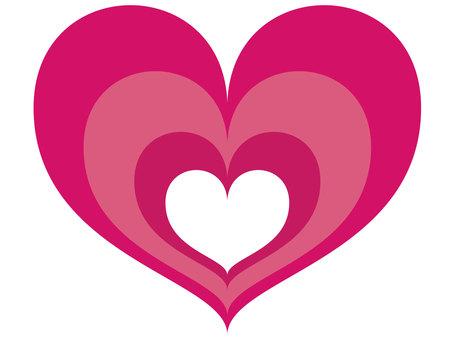 Cute heart to heart