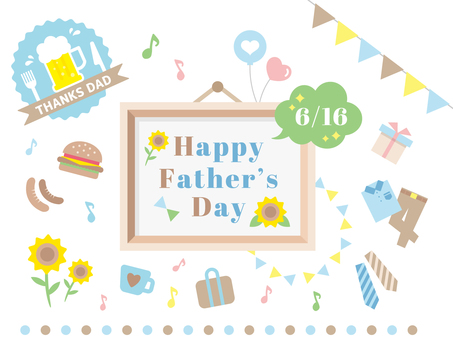 Father's Day Material Set June 16