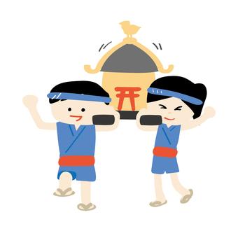 兒童mikoshi