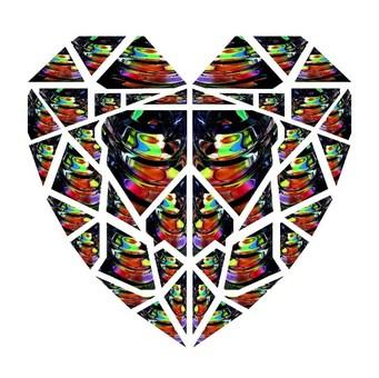 Heart shaped pattern design A