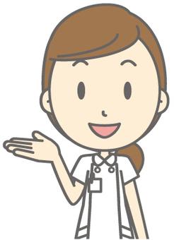 Female nurse - guide - bust