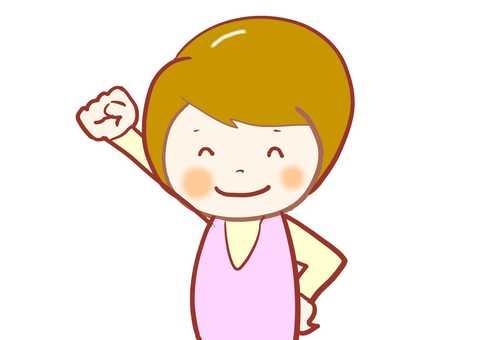 Female A-I-cheering cheering