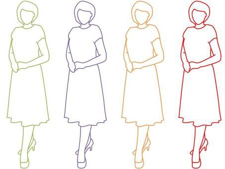 One piece woman 2