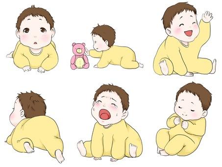 Baby's gesture
