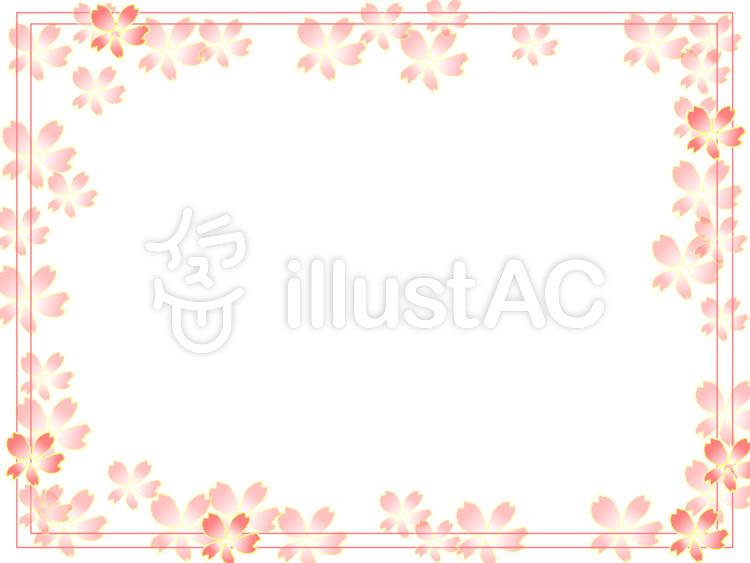 春フレームイラスト No 350531無料イラストならイラストac