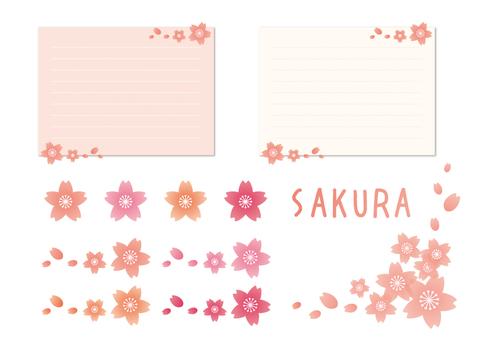 Sakura _ simple frame