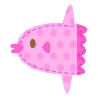 Sunfish applique