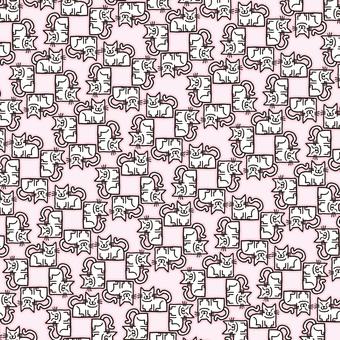 Tatami pattern of cat 039